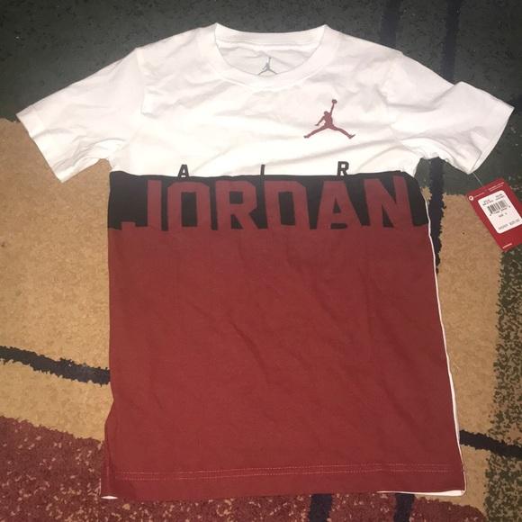 4d97c436a983 Boys Nike Jordan shirt youth small NWT t-shirt